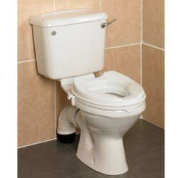 Savanah® Raised Toilet Seat with Lid