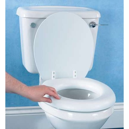 Soft Raised Toilet Seat