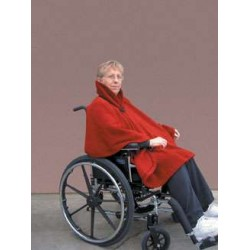 Contoured Wheelchair Shawl