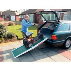 Fibreglass Scooter Mobility Ramp
