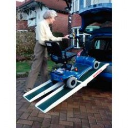 Folding Access Channel Mobility Ramp