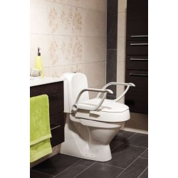 Etac® Cloo Height Adjustable Raised Toilet Seat