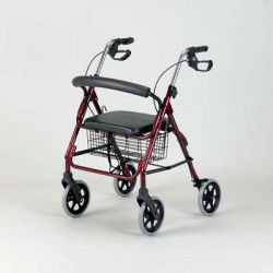 Aluminium Four Wheeled Rollator