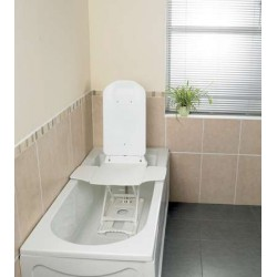 White Covers for Deltis Bathlift