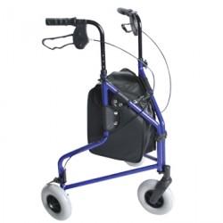 Lightweight Tri Wheel Walker