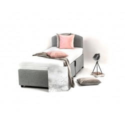 Brendon 3ft Profiling Bed c/w Kensington 3ft Luxury Pocket Sprung Mattress