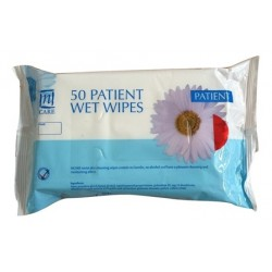 50 Patient Wet Wipes