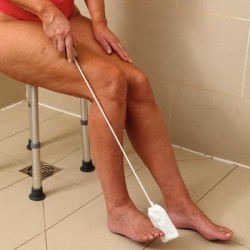 Long Handled Toe Washer