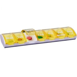 fAnabox® Pill Organisers Seven Day