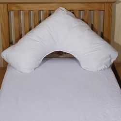 Luxury Wipe Clean V-Shaped Pillow