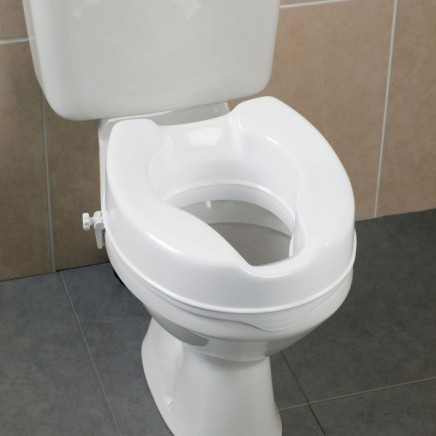 Savannah Raised Toilet Seats without Lid