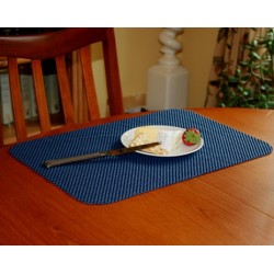 Stayput non-slip fabric tablemat