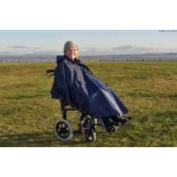 Splash Deluxe Wheelchair Poncho