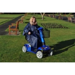 Splash Deluxe Wheelchair/Scooter Poncho Sleeved